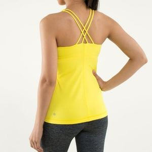 Lululemon Free To Be Tank  Sizzle